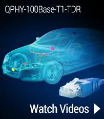 qphy 100base-t1-tdr videos